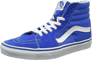 Vans Mens SK8-Hi Imperial Blue Suede Trainers 10.5 US