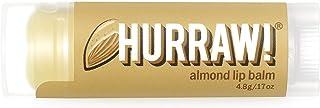 Hurraw Almond Lip Balm, 4.3 grams