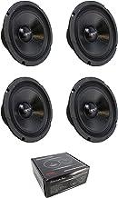$117 » 4 x 6.5 Midrange Midbass Speaker 1200W 8 Ohm American Bass SQ-65CB-X