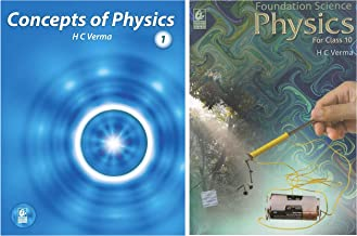 Concept of Physics Part-1 (2019-2020 Session) by H.C Verma + Foundation Science Physics for Class - 10 (2019-2020) Examina...