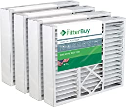 Best FilterBuy 20x25x5 Amana Goodman Coleman York FS2025 Compatible Pleated AC Furnace Air Filters (MERV 13, AFB Platinum). Replaces Totaline P102-BB20, Five Seasons FSBB2025 and more. 4 Pack. Review