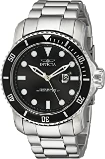 Invicta Men's 15075 Pro Diver Analog Display Japanese Quartz Silver Watch