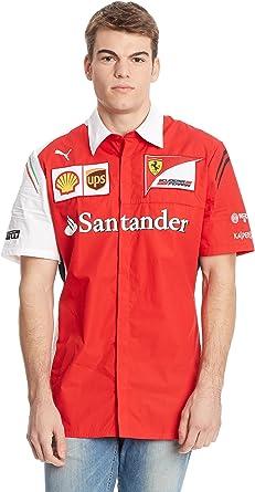Puma sF ferrari team t-shirt pour homme alonso ferrari formule1 chemise pour homme rouge