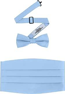 Best light blue bow tie and cummerbund Reviews