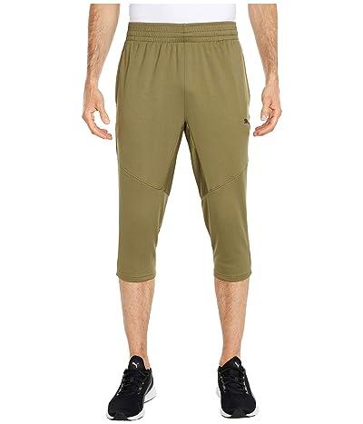 PUMA Reactive 3/4 Pants (Burnt Olive) Men
