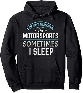Motorsports Motocross Stock Car Banger Racing Speedway  Pullover Hoodie