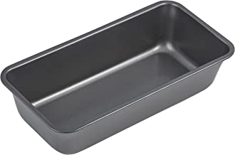 MASTERPRO MPHB8 Loaf Bakeware Pan, Carbon Steel/Black