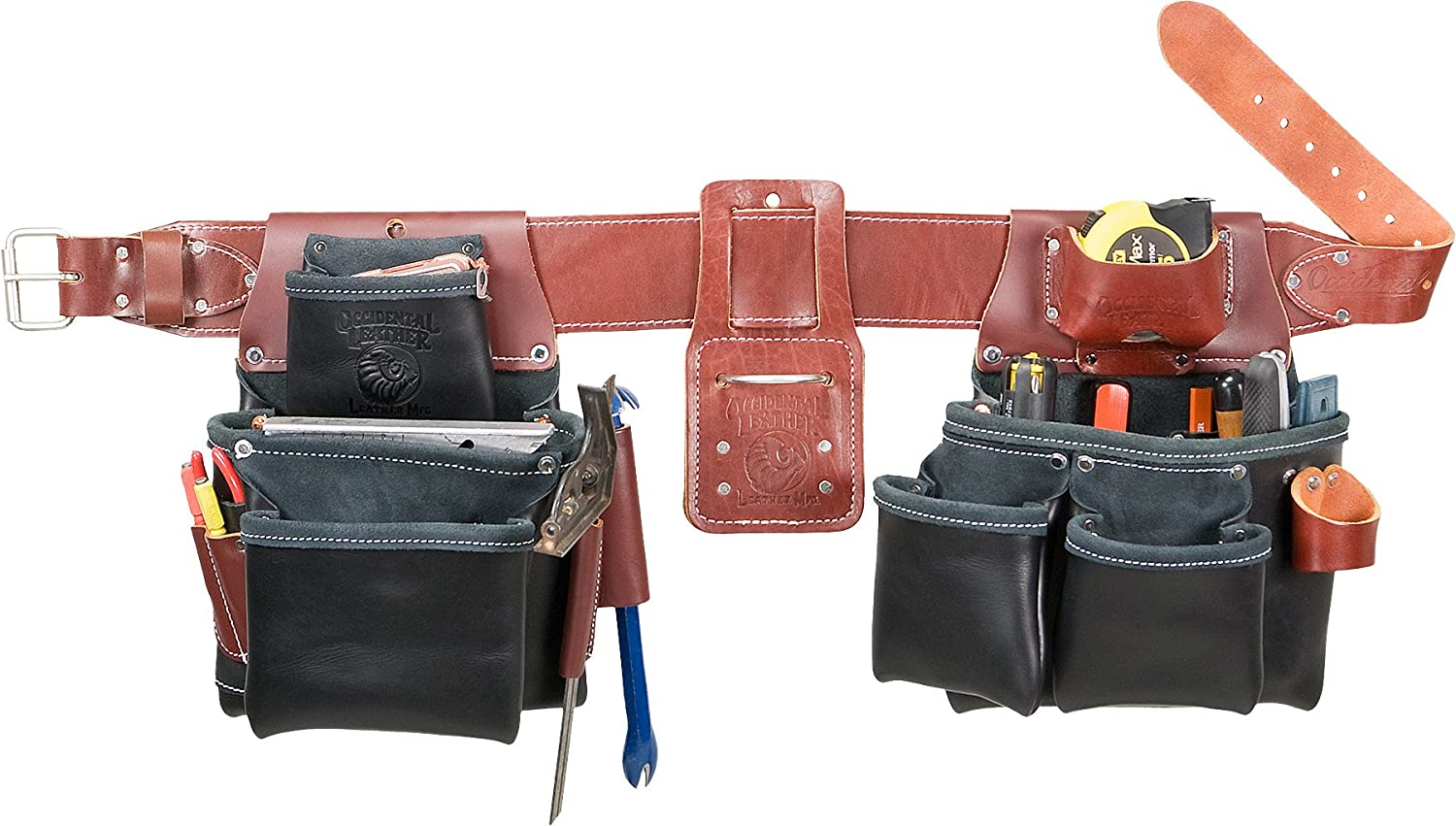 Occidental Leather Deluxe Our shop most popular B5080DB SM Pro Set - Black Framer Small