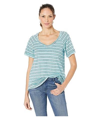 Columbia Summer Timetm T-Shirt II (Clear Blue Stripe) Women
