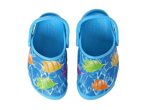 4030458d9cade Crocs Kids CrocsFunLab Lights Fish (Toddler Little Kid) at 6pm