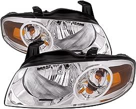 HEADLIGHTSDEPOT Headlight Compatible with Nissan Sentra Base/S Model (Pair)