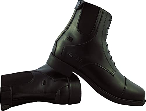 Mark Mark Mark Todd Synthetic Zip Back Jodhpur bottes c5c