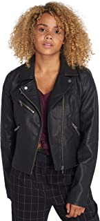 52b89cb67ce7bf Only Donna Giacche/Giacca in pelle onlVigga Faux Leather Biker