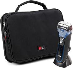 DURAGADGET Beschermend Zwart & Blauw EVA draagtas - Geschikt voor gebruik met Philips AquaTouch S5550/44 | QG3380/16 | S31...