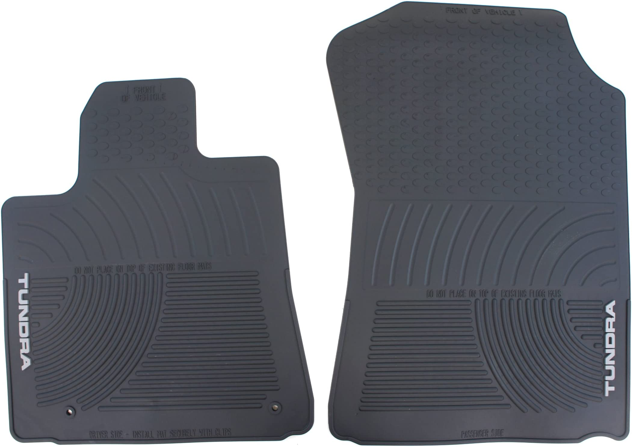 2nd Row Rubber Floor Mat for Toyota Land Cruiser #R8802 *13 Colors