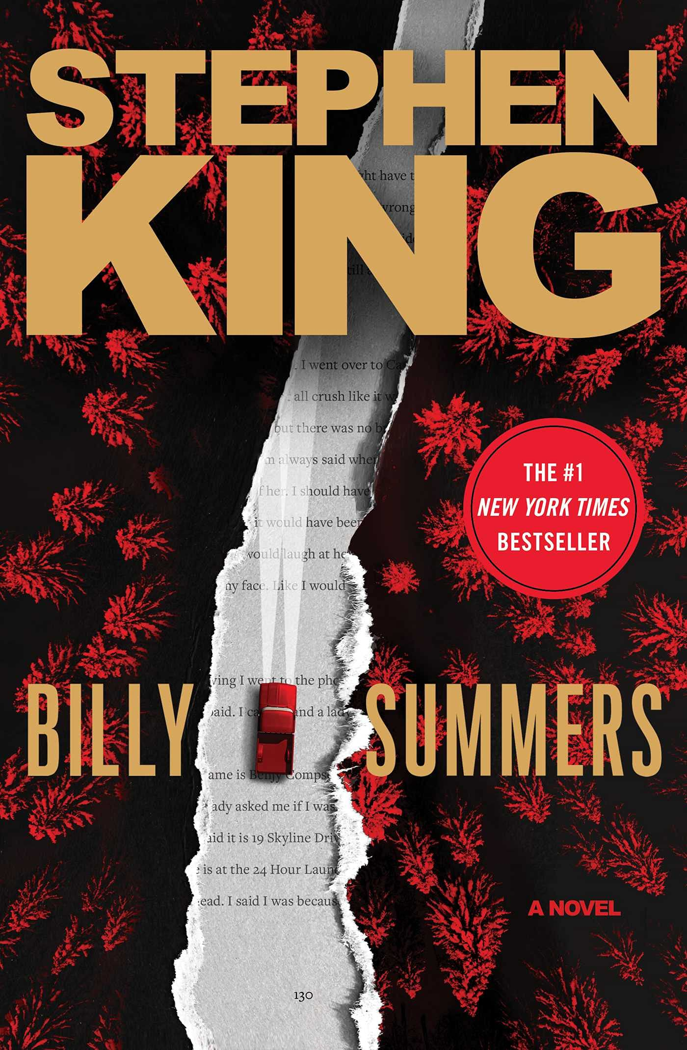 Cover image of Billy Summers by Stephen King