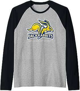 South Dakota State SDSU Jackrabbits NCAA SDKSU-01 Raglan Baseball Tee