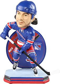 Forever Collectibles Mats Zuccarello New York Rangers Mats Zuccarello Name and Number Bobblehead