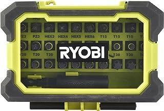 Ryobi RAK31MSDI vridmoment + slagkraft 25 mm skruvmejsel bit set (31 del), flerfärgad