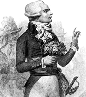 Maximilien Robespierre N(1758-1794) French Revolutionist Line And Stipple Engraving Early 19Th Century Poster Print by (18...