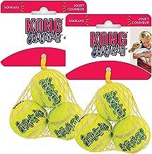 KONG Air Squeaker Tennis Balls Two Pack