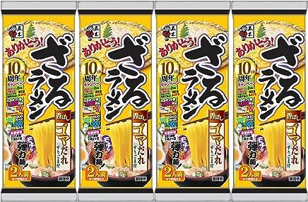 五木食品 ざるラーメン ゴマだれ 264g×4袋