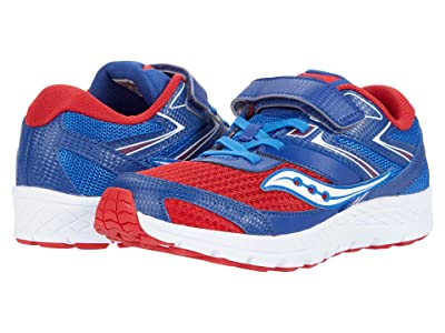 Saucony Kids S-Cohesion 13 A/C (Little Kid/Big Kid) (Red/Blue/White) Boys Shoes