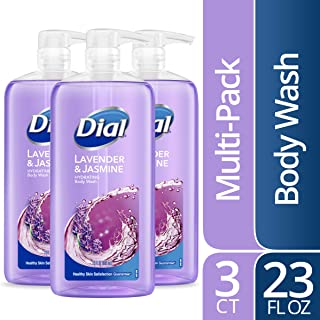 Dial Body Wash, Lavender & Jasmine, 23 Ounce (Pack of 3)