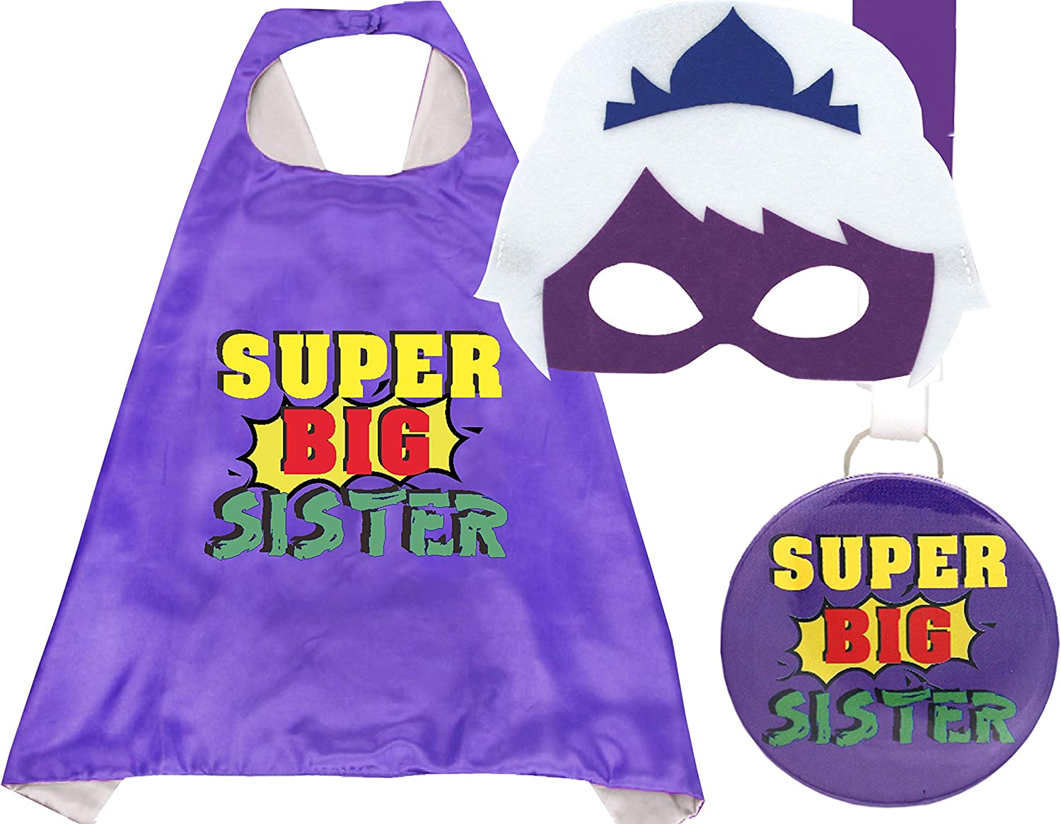 Big Sister Cape, Super Sister, New Big Sister Gifts, Big Sister Gifts, Big Sister Gifts For Little Girls Gifts for New Sister