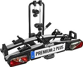 EUFAB 11523 Premium ll Plus Fietsendrager voor trekhaak, geschikt voor e-bikes.