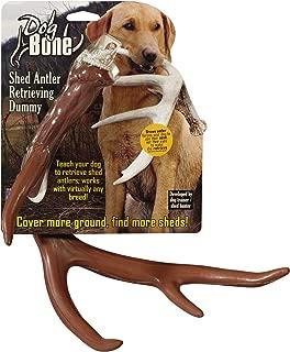 Dog Bone Shed Dummy Retrieving Antler, Brown
