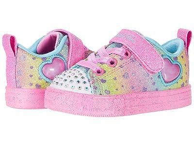 SKECHERS KIDS Twinkle Toes Shuffle Lite Lil Heartbursts 314909N (Toddler/Little Kid) (Multi) Girl