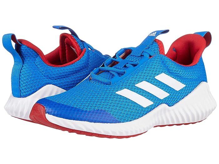 adidas Kids  FortaRun (Little Kid/Big Kid) (Glory Blue/White/Scarlet) Boys Shoes