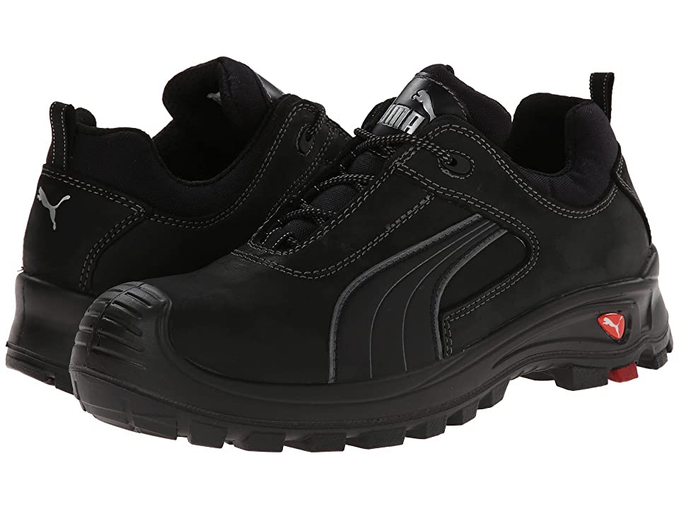 PUMA Safety Cascades Low EH (Black) Men