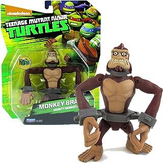 Playmates Year 2015 Rare Limited Nickelodeon Teenage Mutant Ninja Turtles 5 Inch Tall Action Figure - Mighty Monkey Mutant MONKEY BRAINS