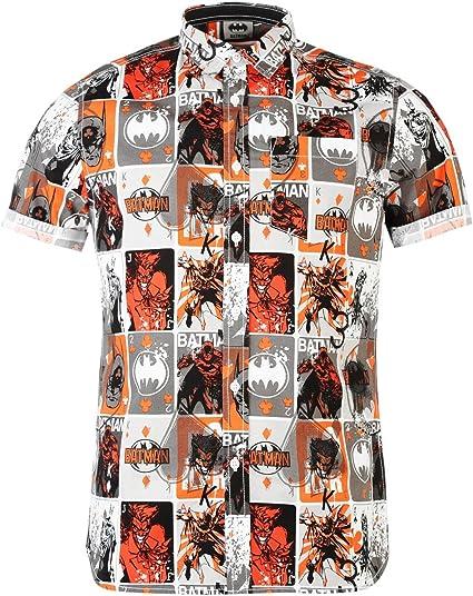 Batman todo camisa de impresión blanco/multi DC Comics para ...