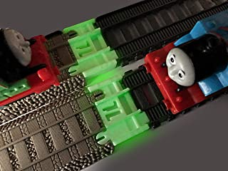 TrainLab Track Adapters Compatible with Trackmaster (2014-cur) to Trackmaster (2009) Train Track Adapter 2pc (NiteBrite)
