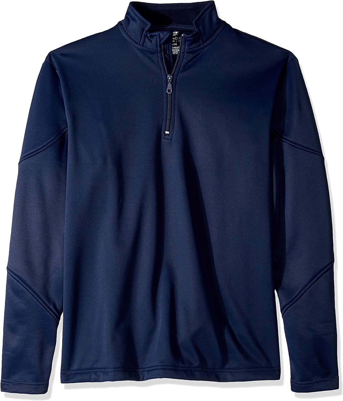 AquaGuard Men's Cool & Dry Sport Quarter-Zip Pullover Fleece