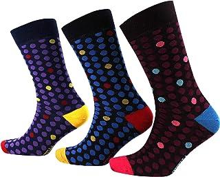 Viyella 3 Pair Pack Tonal Polka Wool Socks