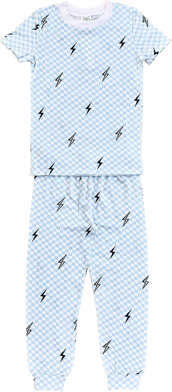 Esme Boys Crew Neck Short Sleeve Top & Pants Set Size 2 3 4 5 6 7 8 10 12 14
