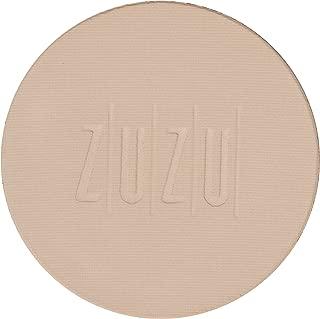 ZUZU LUXE Dual Powder Foundation Refills (D -10 Refill)0.32 oz,Pressed mineral powder, medium to full coverage, natural finish. Natural, Paraben Free, Vegan, Gluten-free, Cruelty-free, Non GMO.