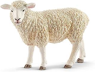 Schleich Sheep Toy Figure, White