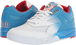 Puma White/Indigo Bunting/High Risk Red
