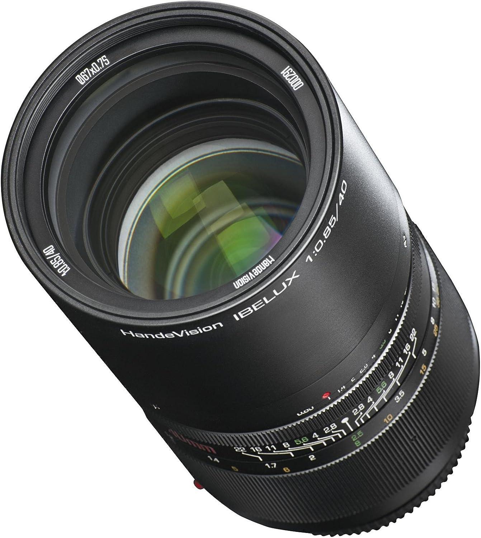 Handevision Ibelux 40 Mm F 0 85 Objektiv Für Canon M Kamera