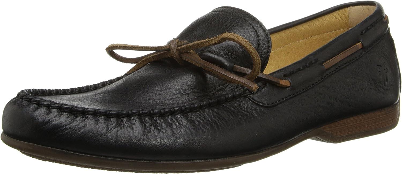 Frye Men's Lewis Tie Pebbled Loafer