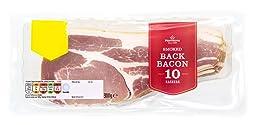 Morrisons Smoked Rindless Back Bacon Rashers, 300g, 10 Rashers