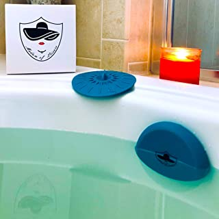Madam of Leisure Bathtub Overflow Drain Cover and Tub Drain Stopper - Add an Extra 5