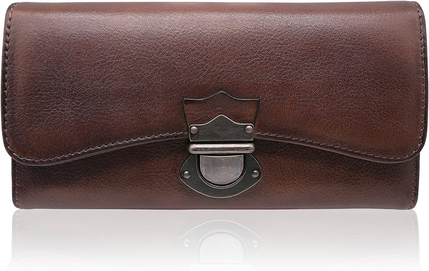 Women's Wallet Large Capacity Ladies Real Leather Clutch
