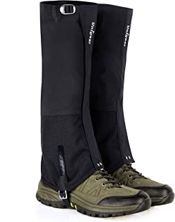 Unigear Snow Boot Gaiters for Hiking, Waterproof Leg Gaiters Abrasion Resistant for Climbing, Ice Mountaineering, Snowshoeing, Hunting