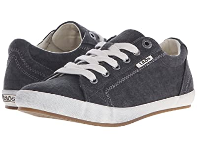 Taos Footwear Star (Charcoal Washed Canvas) Women